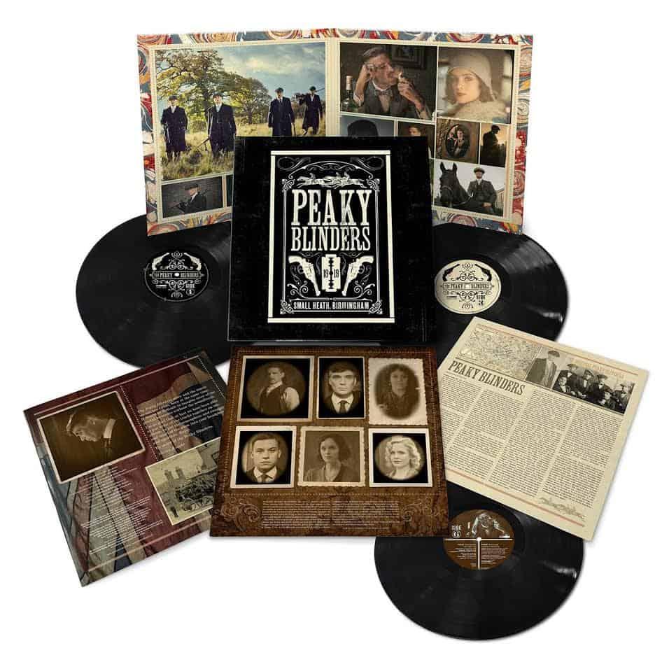 Buy Online Various Artists - Peaky Blinders OST Series 1-5 Triple Vinyl