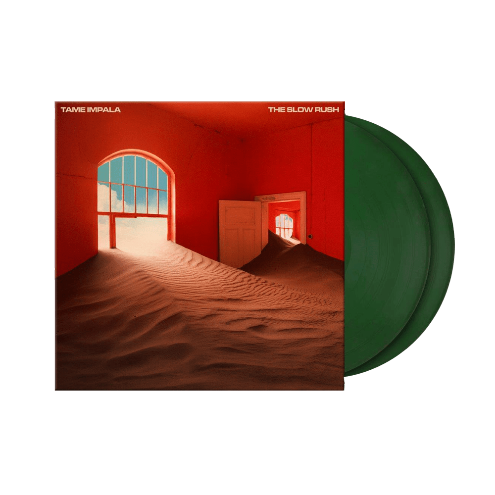 Buy Online Tame Impala - The Slow Rush Dark Forest Green Double Vinyl