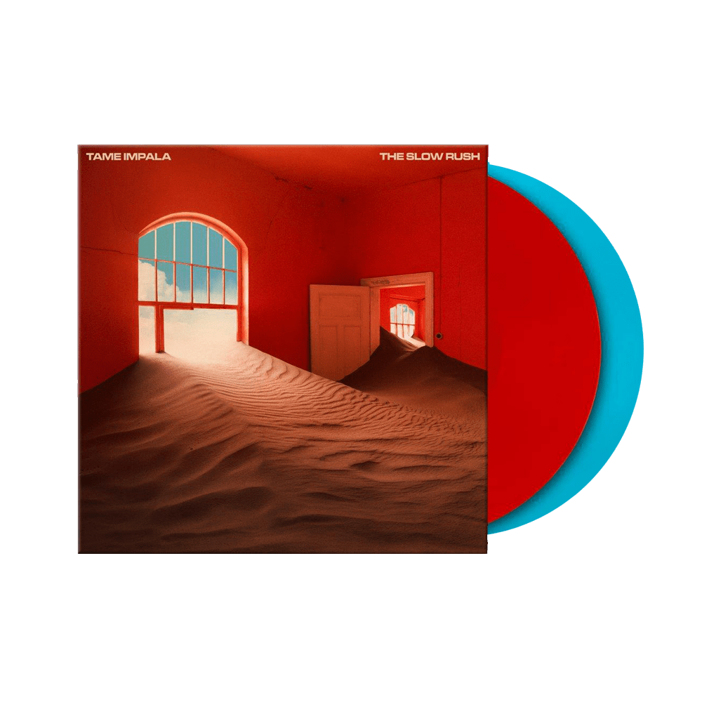 The Slow Rush Red & Light Blue Double Vinyl