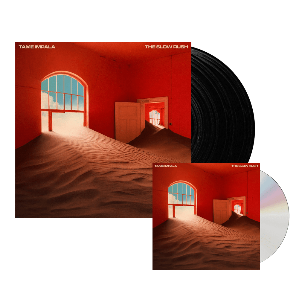 The Slow Rush CD + Black Double Vinyl