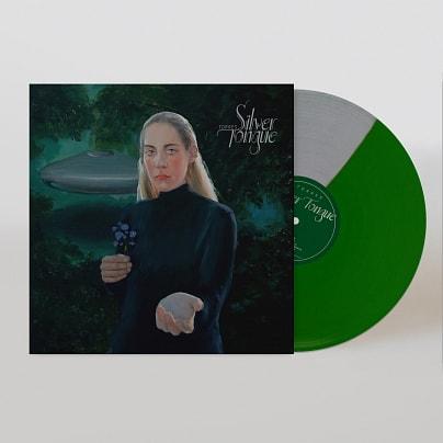 Silver Tongue Green & Silver LP