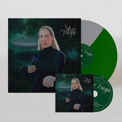 Silver Tongue CD + Green & Silver Vinyl