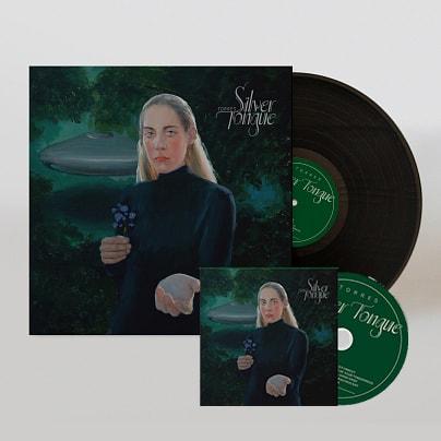 Silver Tongue CD + Black Vinyl