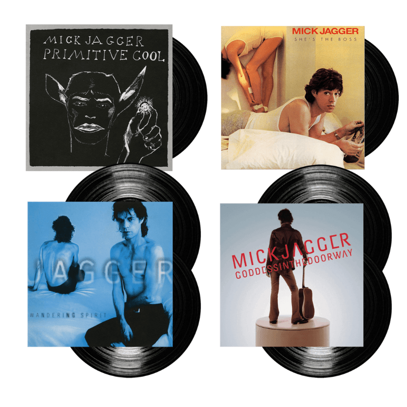 Buy Online Mick Jagger - Vinyl Re-issues - Primitive Cool + She's The Boss + Wandering Spirit + Goddess In The Doorway