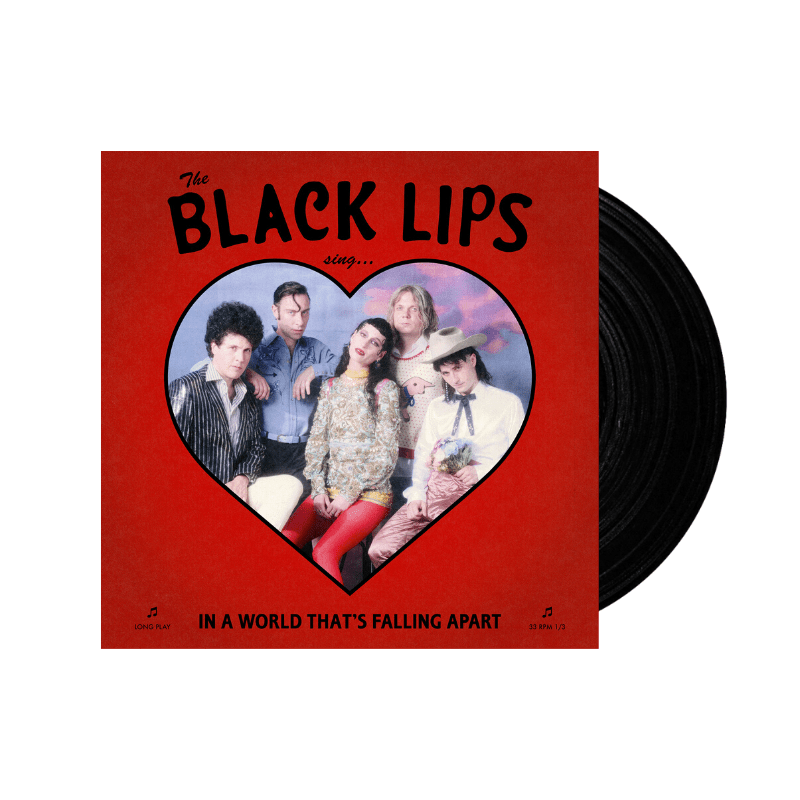 Buy Online The Black Lips - Sing In A World That's Falling Apart Black Vinyl
