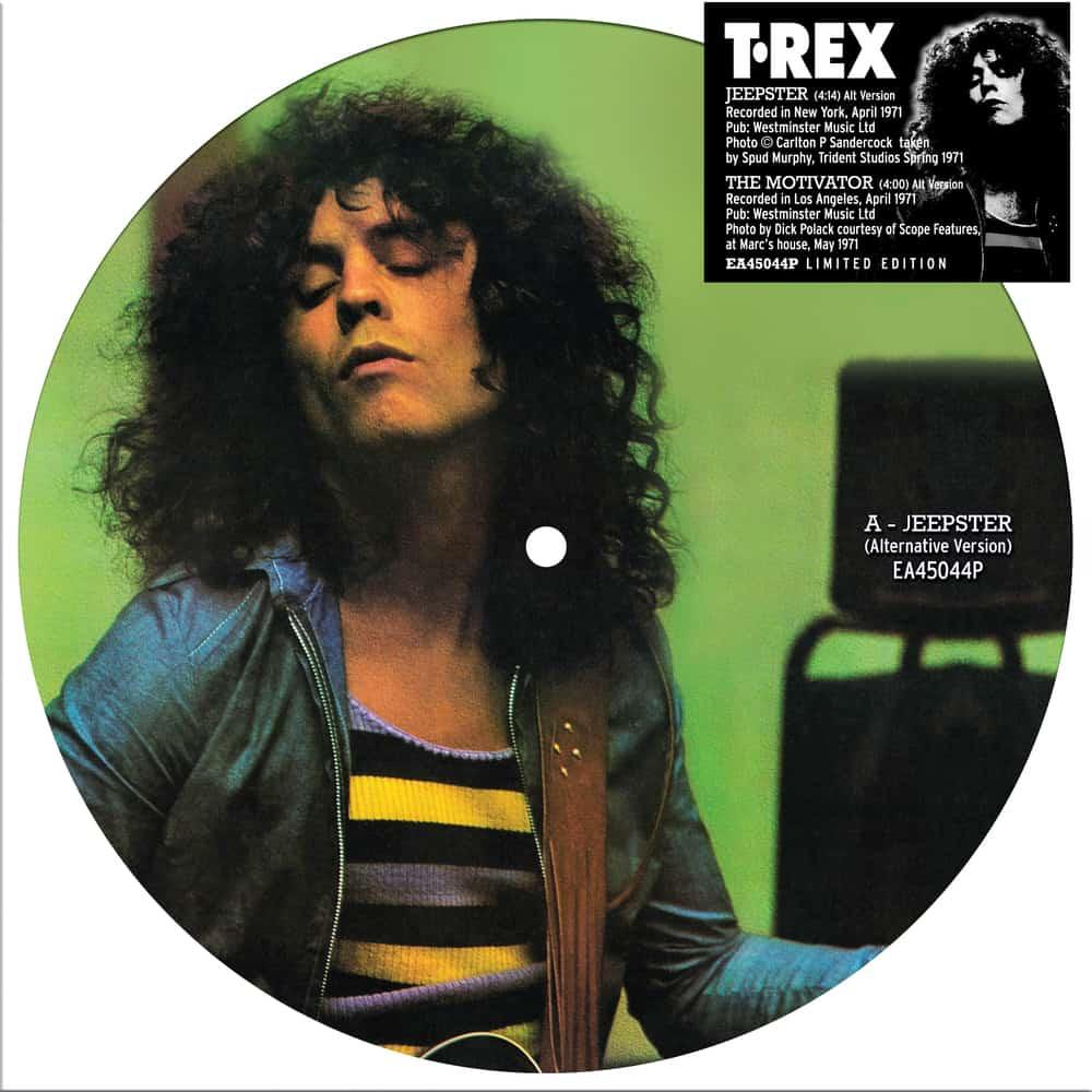 Buy Online T. Rex - Jeepster 7-Inch Vinyl Picture Disc
