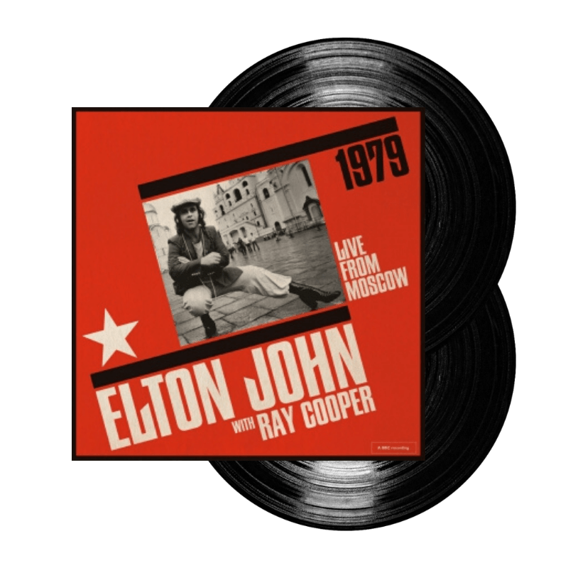 Buy Online Elton John - Live From Moscow (w/ Ray Cooper) Double Vinyl