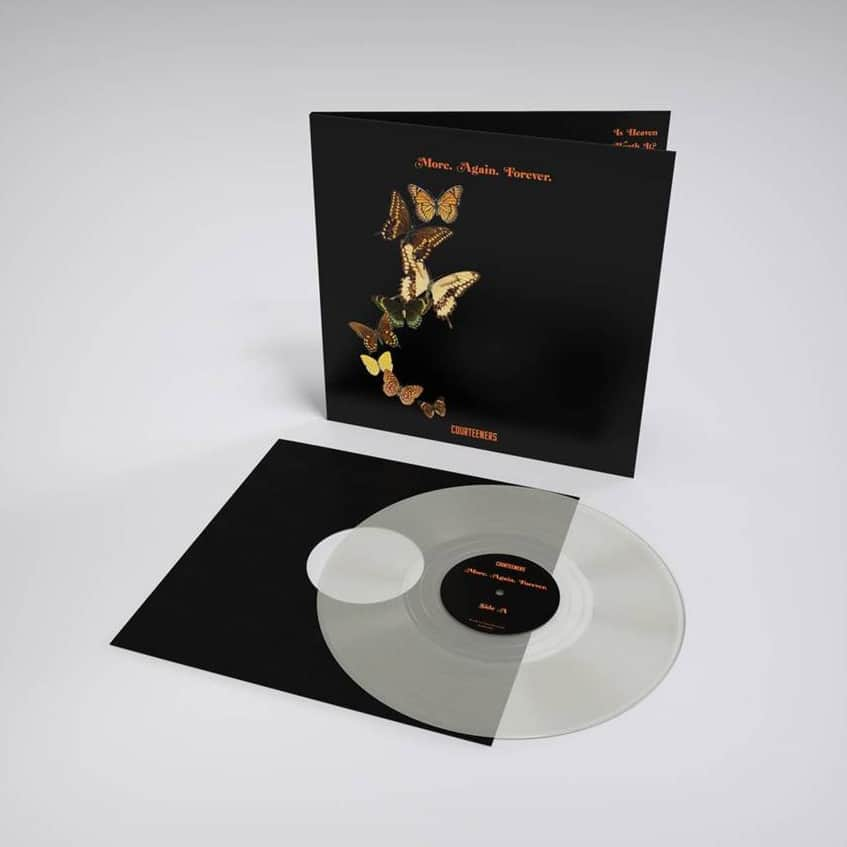 Buy Online Courteeners - More. Again. Forever. Clear Vinyl