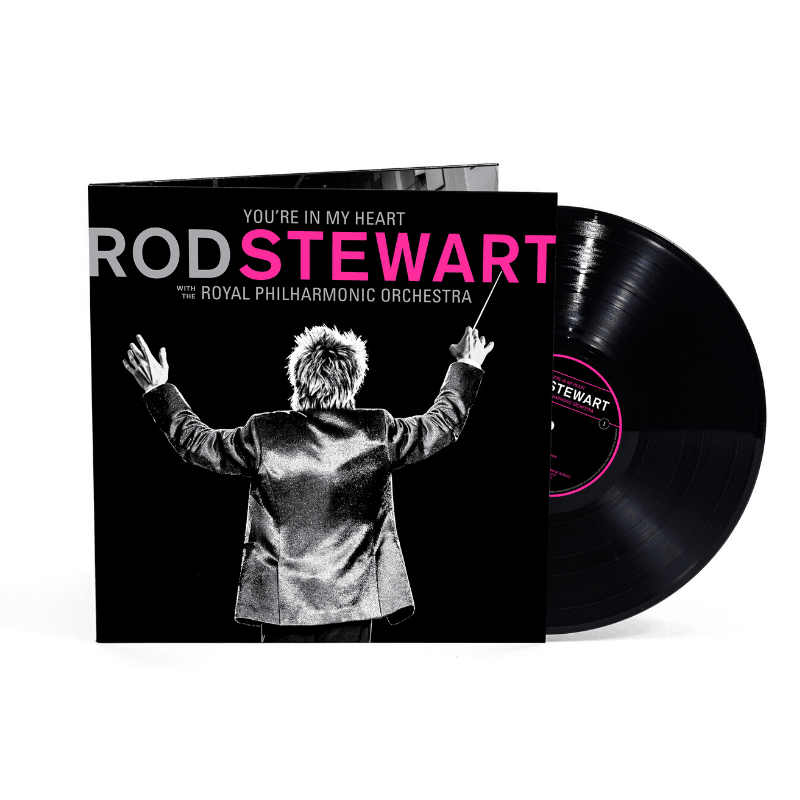 Buy Online Rod Stewart - You're In My Heart: Rod Stewart with the Royal Philharmonic Orchestra Black