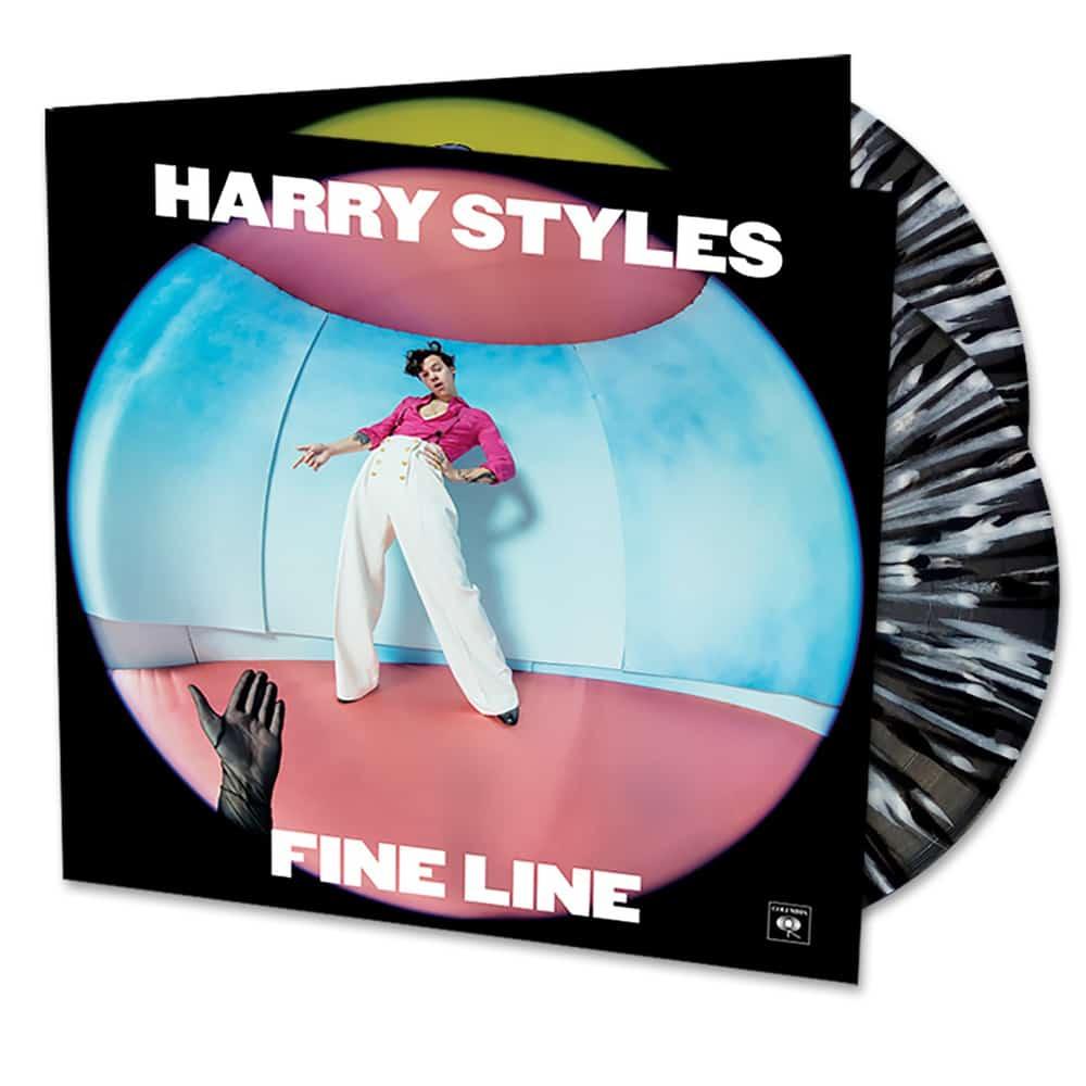 Buy Online Harry Styles - Fine Line Black & White Splatter Double Vinyl