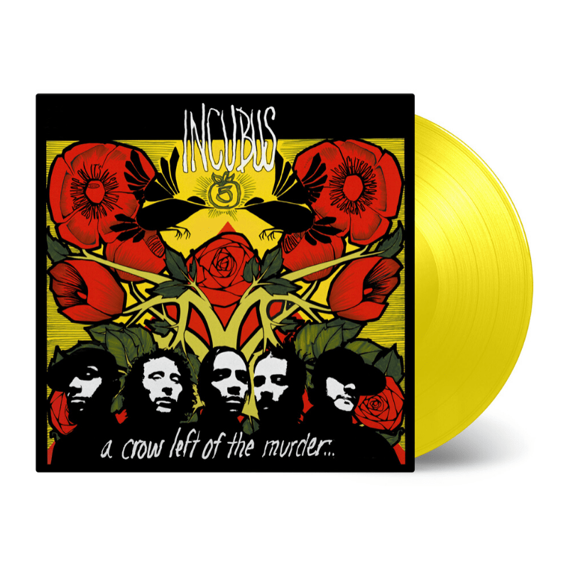 Buy Online Incubus - A Crow Left Of The Murder Transparent Yellow
