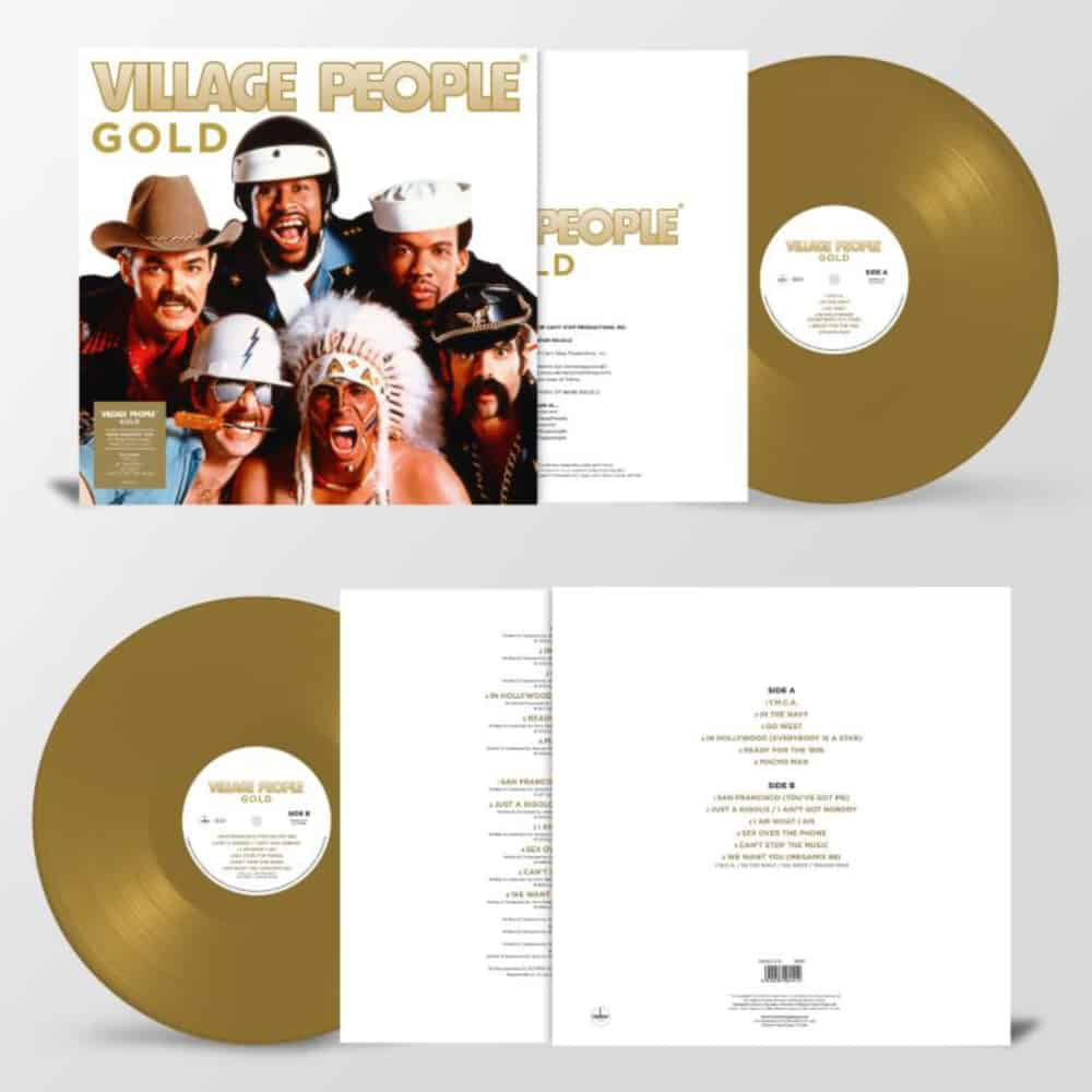 Buy Online Village People - Gold Coloured Vinyl