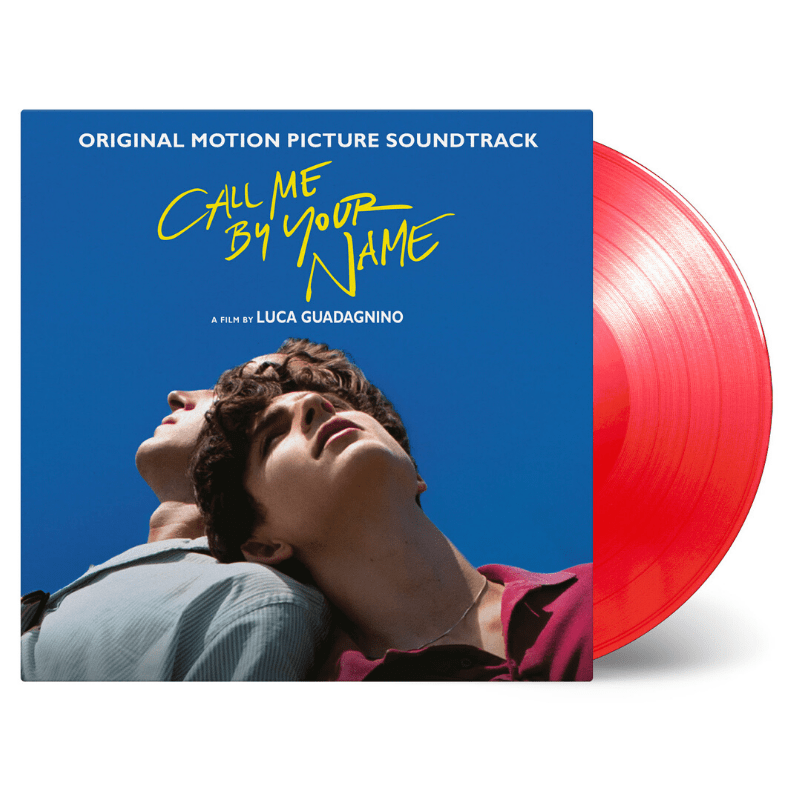 Buy Online Various Artists - Call Me By Your Name OST Transparent Red