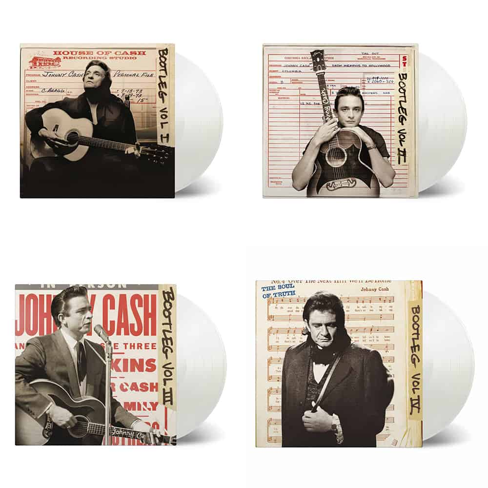 Buy Online Johnny Cash - Bootleg 1-4 Triple Heavyweight Vinyls Bundle