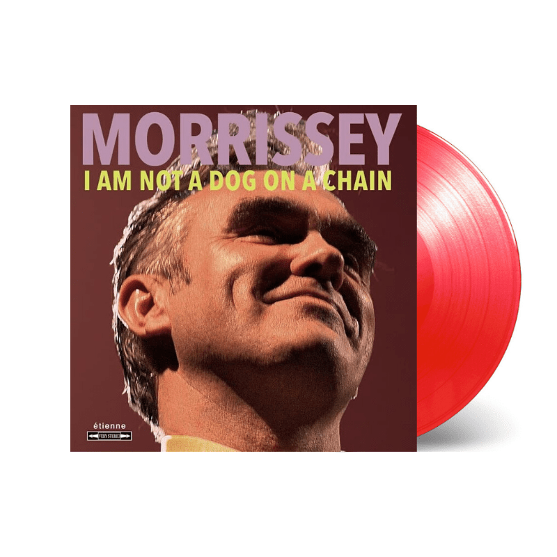 Buy Online Morrissey - I Am Not A Dog On A Chain Transparent Red