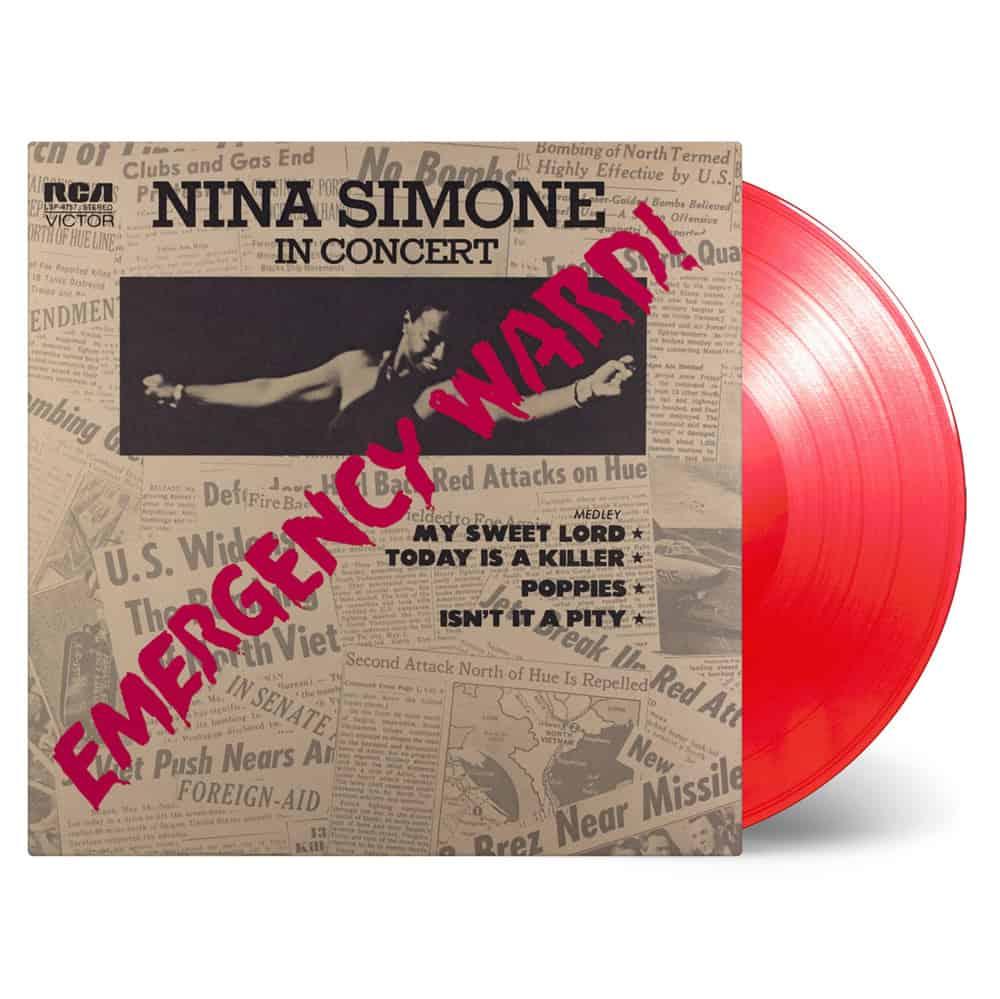 Buy Online Nina Simone - Emergency Ward! Transparent Red