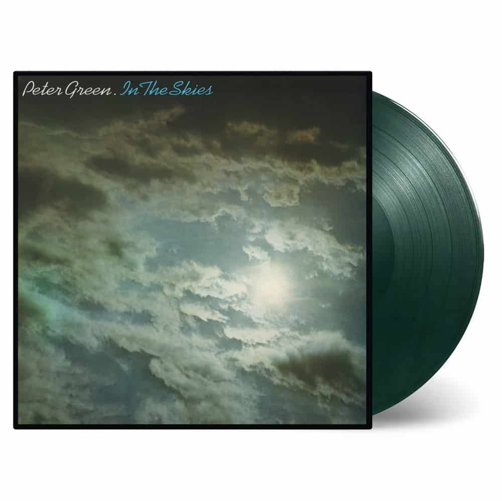 Buy Online Peter Green - In The Skies Transparent Green/Black Mixed Colour Vinyl
