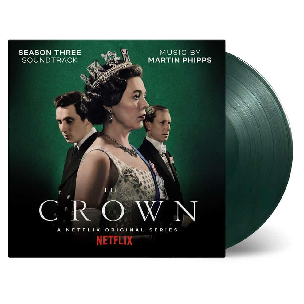 The Crown Season 3 OST Green Marble Vinyl