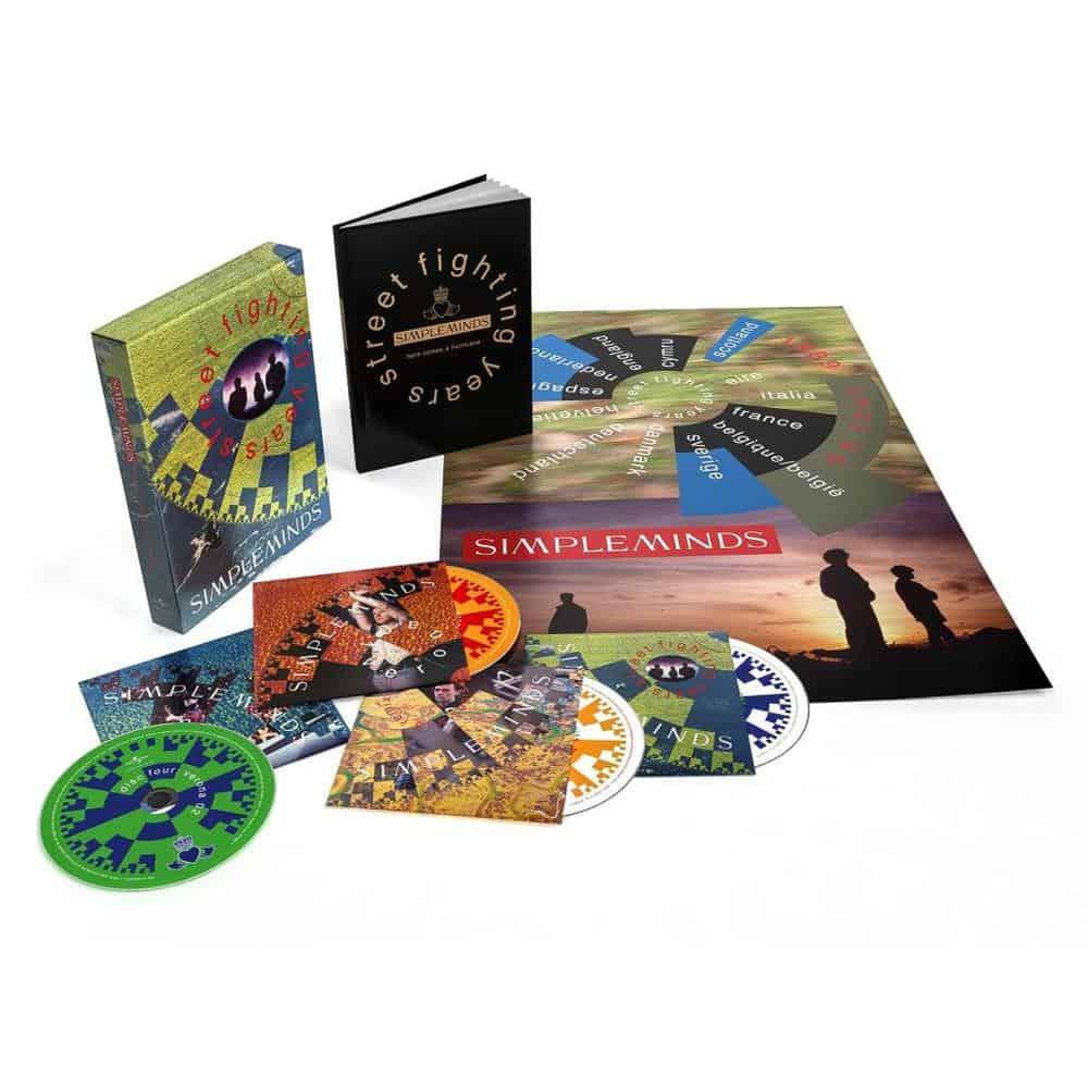 Street Fighting Years 4CD Boxset