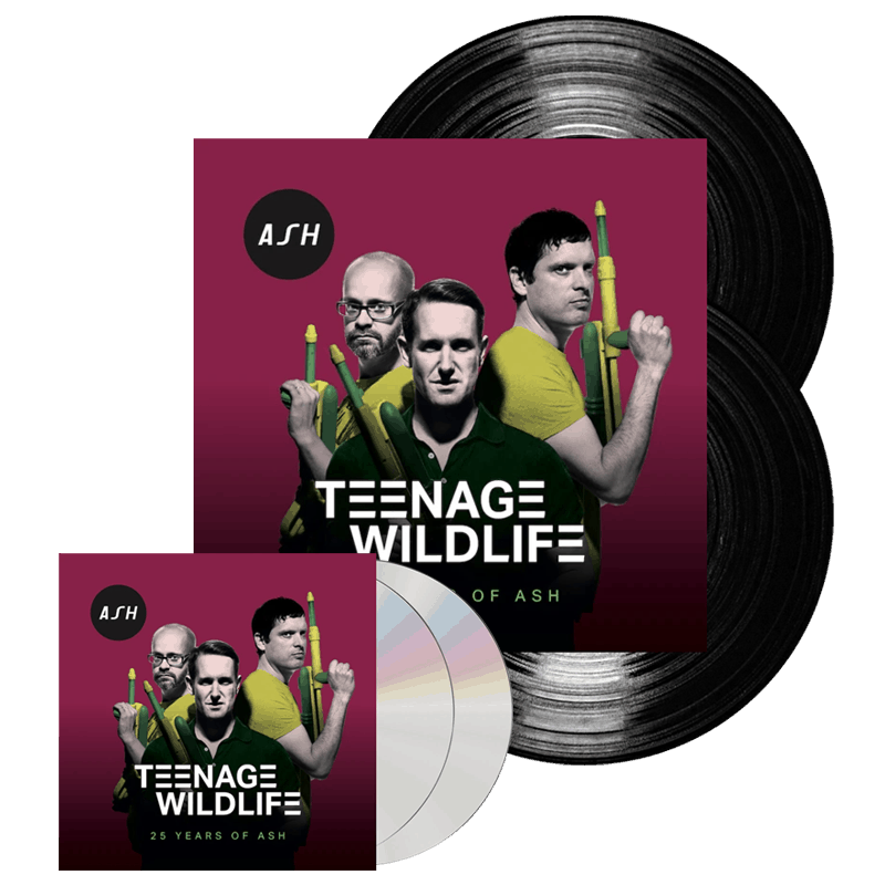 Teenage Wildlife (25 Years Of Ash) Double Vinyl + 2CD