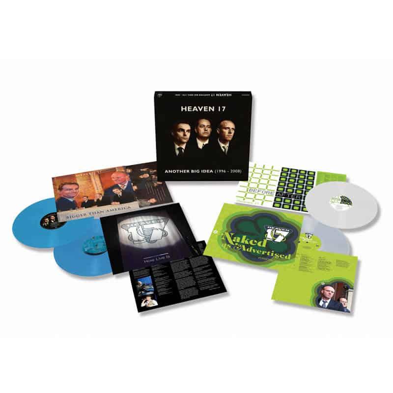 Buy Online Heaven 17 - Another Big Idea - 1996-2008 Four-Disc Coloured Vinyl Boxset