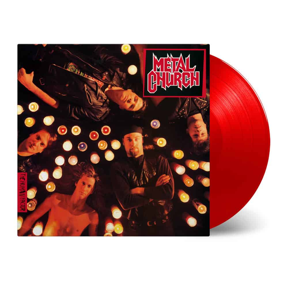 Buy Online Metal Church - Human Factor Translucent Red