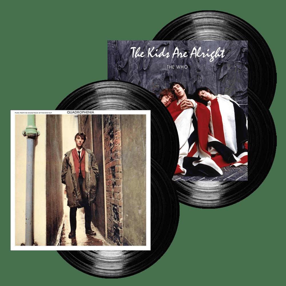 The Kids Are Alright Double Vinyl + Quadrophenia Double Vinyl