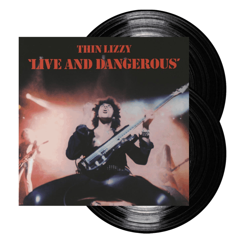 Buy Online Thin Lizzy - Live And Dangerous Double Vinyl