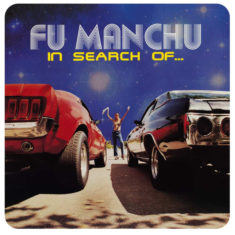 Buy Online Fu Manchu - In Search Of... Deluxe Edition Clear with Blue/Yellow Splatter Vinyl + Red/Black Splatter 7-Inch Vinyl
