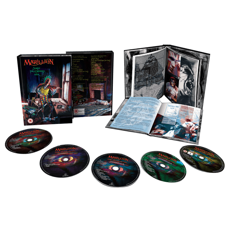Buy Online Marillion - Script For A Jester's Tear Deluxe Edition 4CD / Blu-ray Boxset