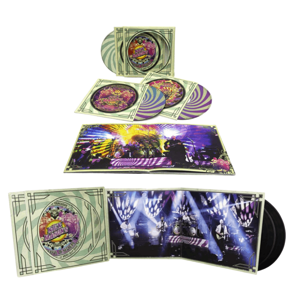 Buy Online Nick Mason's Saucerful of Secrets - Live at the Roundhouse CD/DVD + Double Vinyl