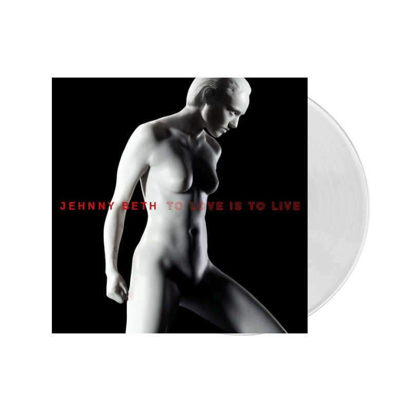 To Love Is To Live White LP