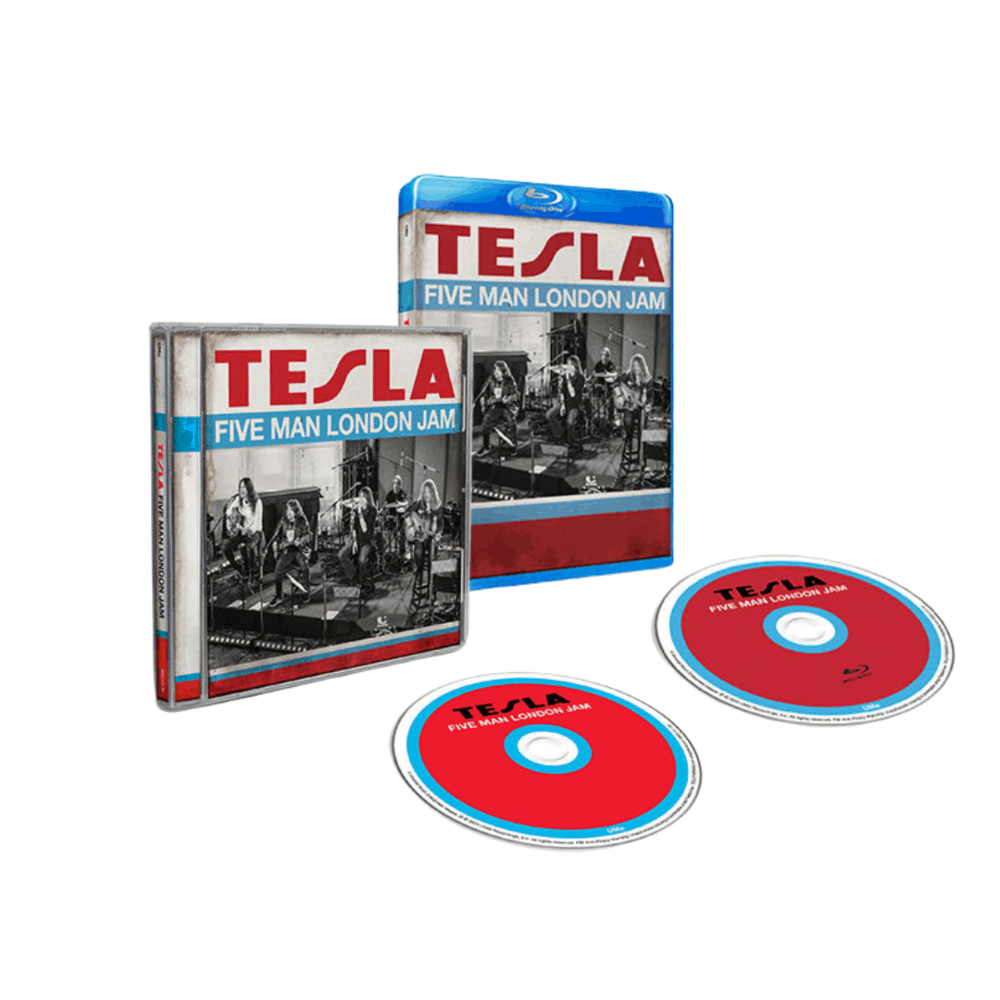 Buy Online Tesla - Five Man London Jam Blu-Ray + CD