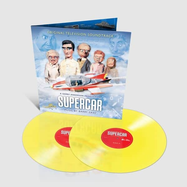 Supercar OST Limited Edition Sherbet Yellow Double Vinyl