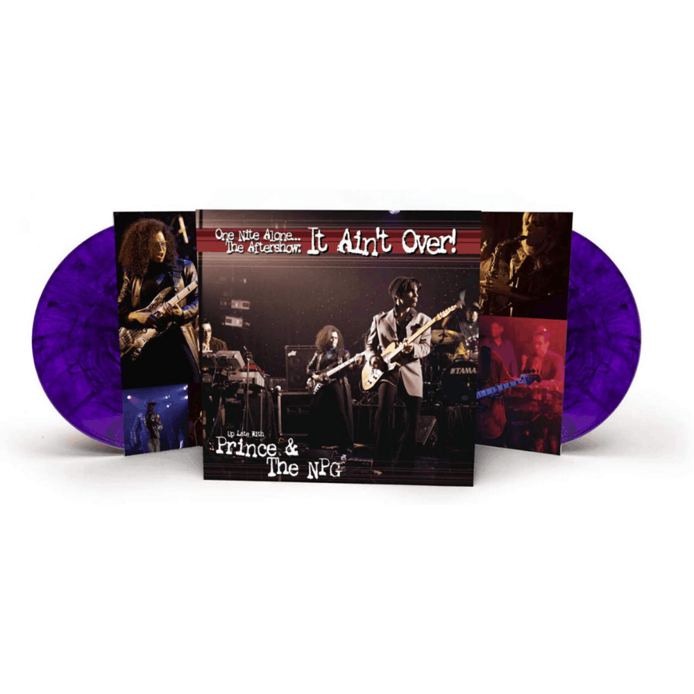 One Nite Alone... The Aftershow: It Ain't Over! Purple Double LP