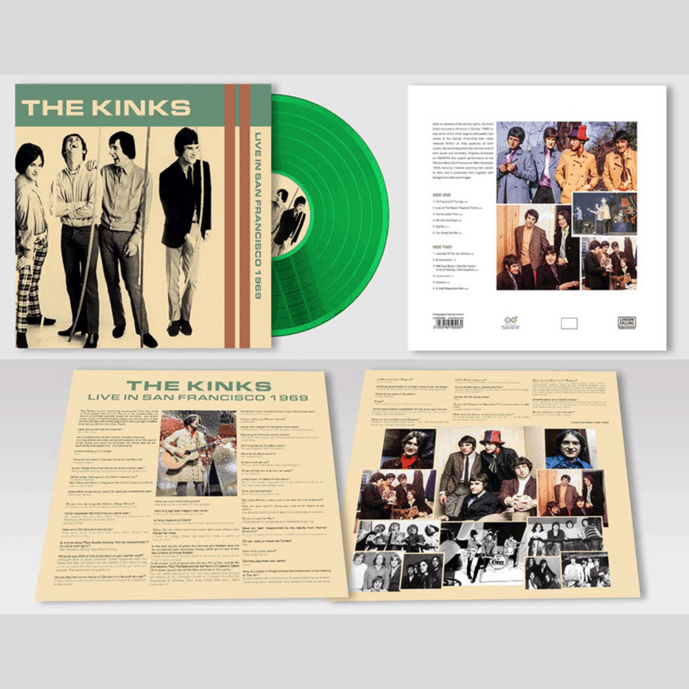 Buy Online The Kinks - Live In San Francisco 1969 Green