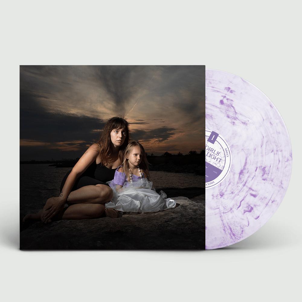 U.S. Girls White/Purple Splatter LP