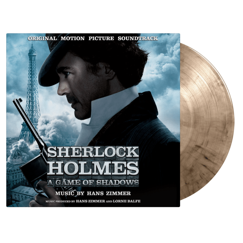 Buy Online Hans Zimmer - Sherlock Holmes: A Game Of Shadows OST Smoke Coloured