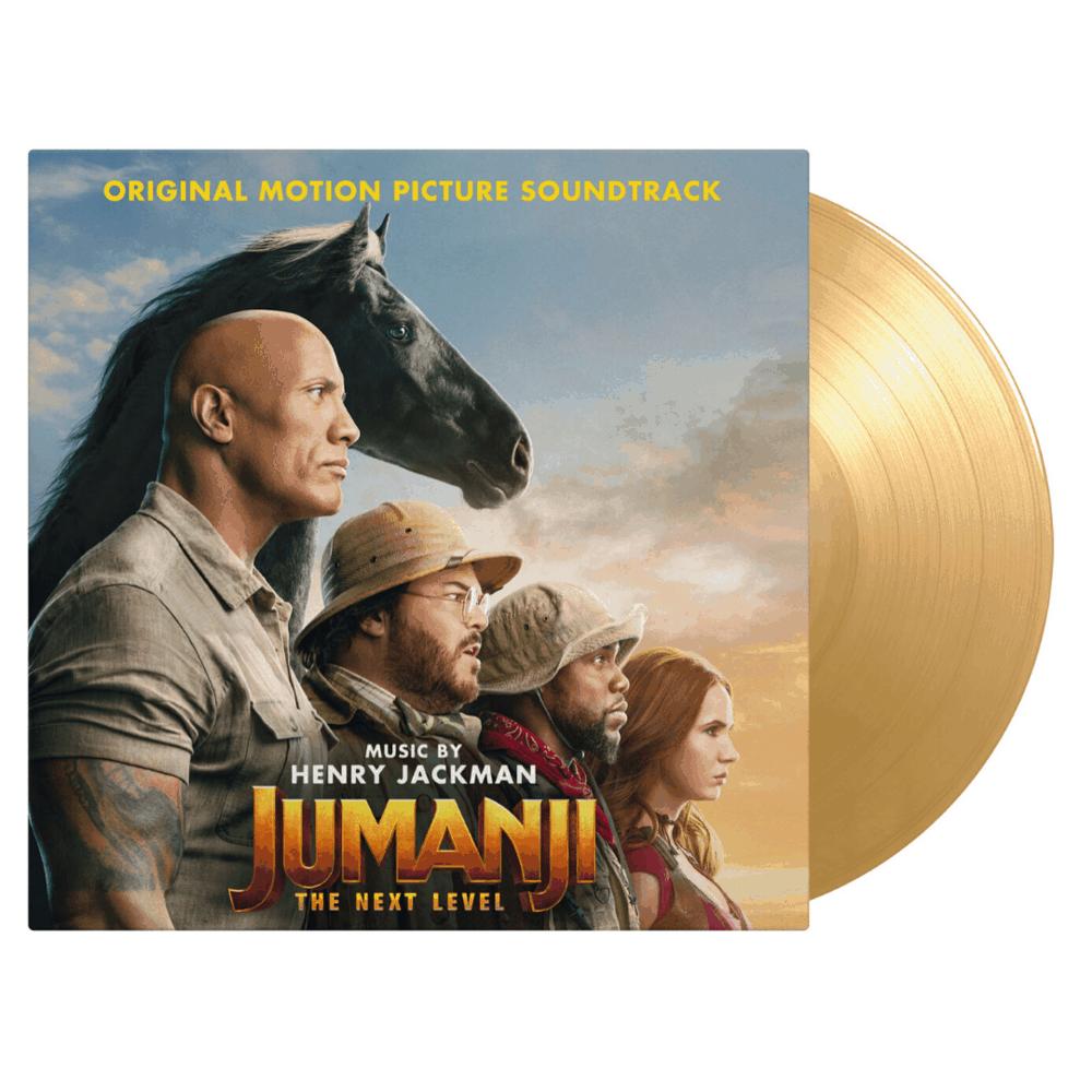 Buy Online Henry Jackman - Jumanji: The Next Level OST Sand Coloured