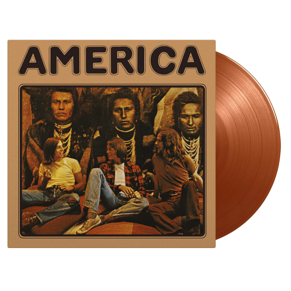 Buy Online America - America Flaming Gold Coloured