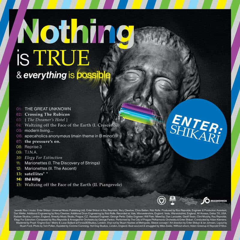Buy Online Enter Shikari - Nothing Is True & Everything Is Possible Coloured