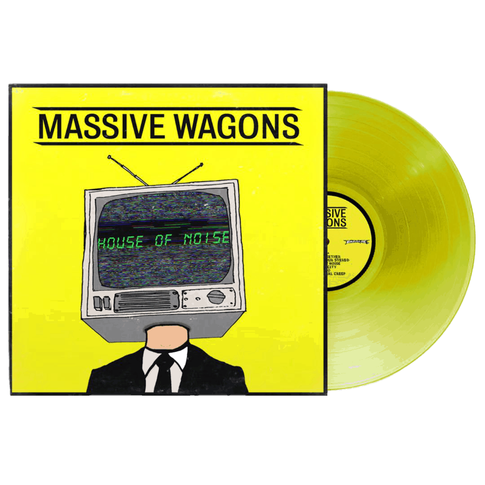 Buy Online Massive Wagons - House Of Noise Yellow