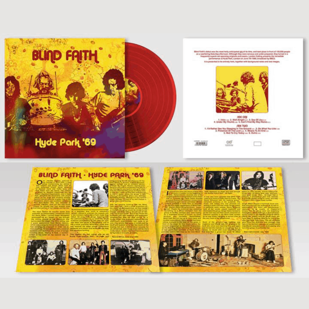 Buy Online Blind Faith - Hyde Park '69 Red