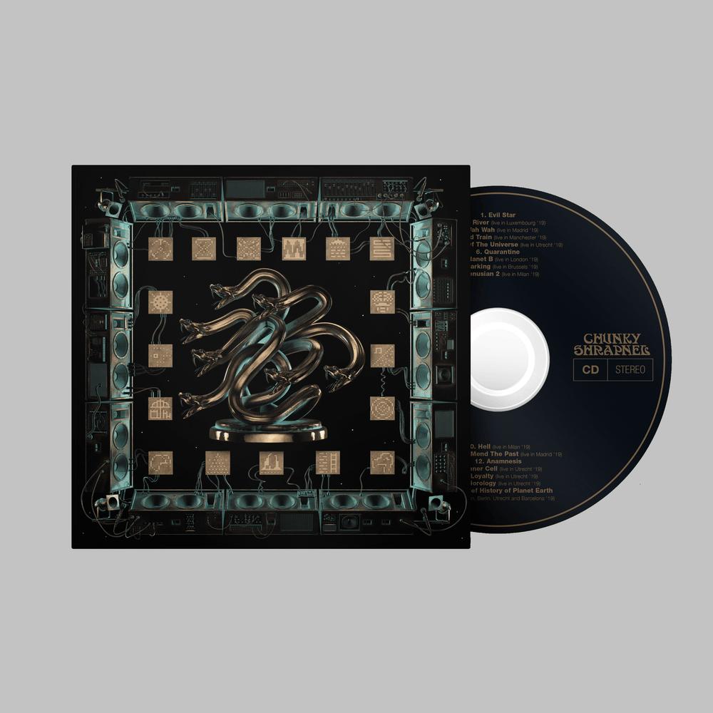 Chunky Shrapnel CD