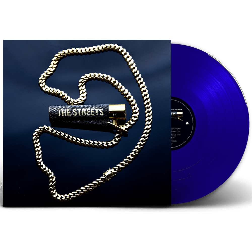 None Of Us Are Getting Out Of This Life Alive Blue Heavyweight Vinyl