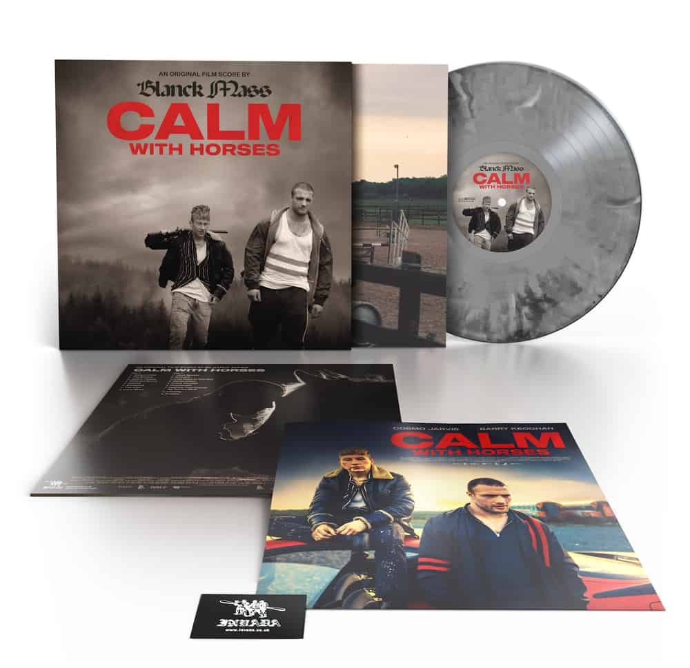 Calm With Horses (Original Score) Black & White Marbled Vinyl