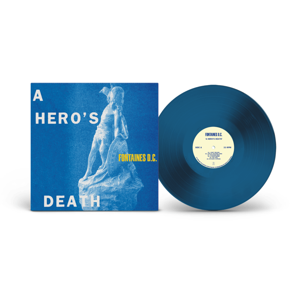 Buy Online Fontaines D.C. - A Hero's Death Blue