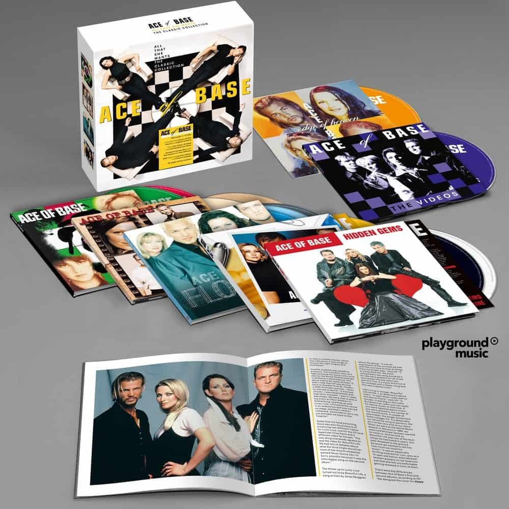 Buy Online Ace Of Base - All That She Wants 11CD + DVD
