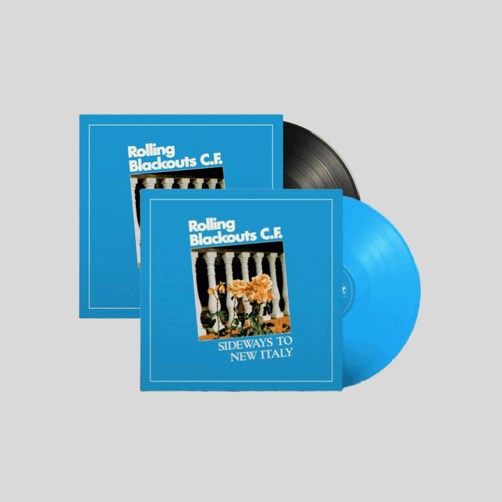 Sideways To New Italy Limited Edition Sky Blue Coloured + Standard Vinyl