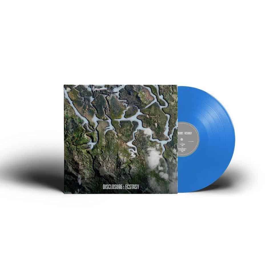 Ecstasy EP Blue Heavyweight Vinyl
